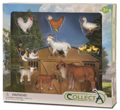 9 pcs Farm Life Boxed Set
