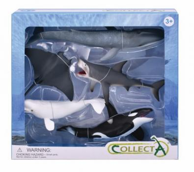 5 pcs Sea Life Boxed Set - 84073