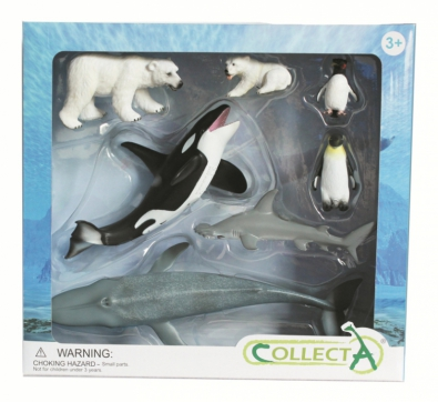 7 pcs Sea Life Boxed Set