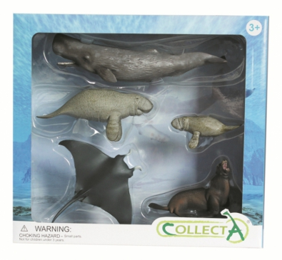 5 pcs Sea Life Set - box-sets