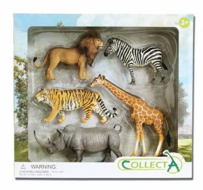 5pcs Wild Life Boxed Set