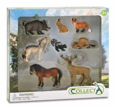 8pcs Woodlands Boxed Set