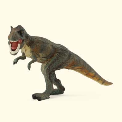Tyrannosaurus Rex Green - age-of-dinosaurs-popular-sizes