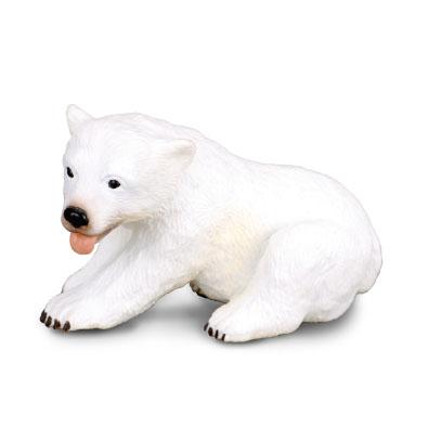 幼北极熊 - 坐