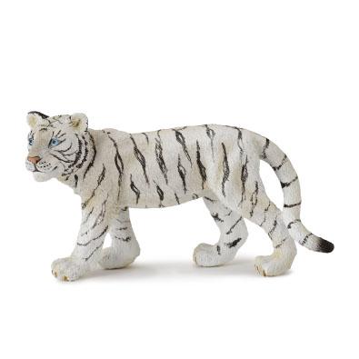 Cría de Tigre Blanco - Andando