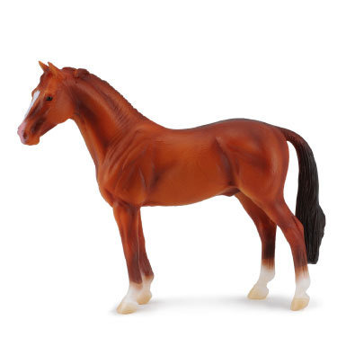 Hanoverian Chestnut - horses-1-20-scale
