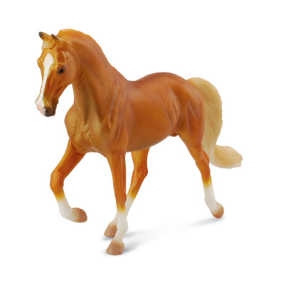 Tennessee Walking Horse Stallion Golden Palomino - horses-1-20-scale