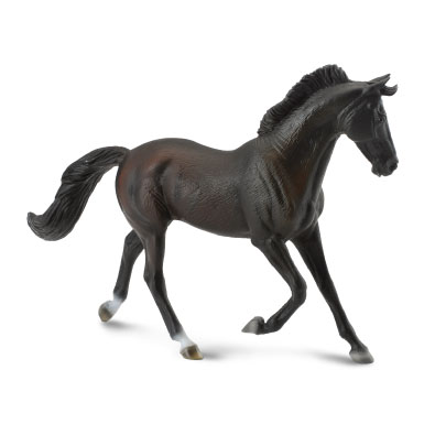 Thoroughbred Mare Black - horses-1-20-scale