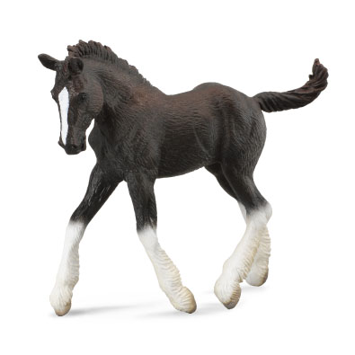 Shire Horse foal - Black - 88583