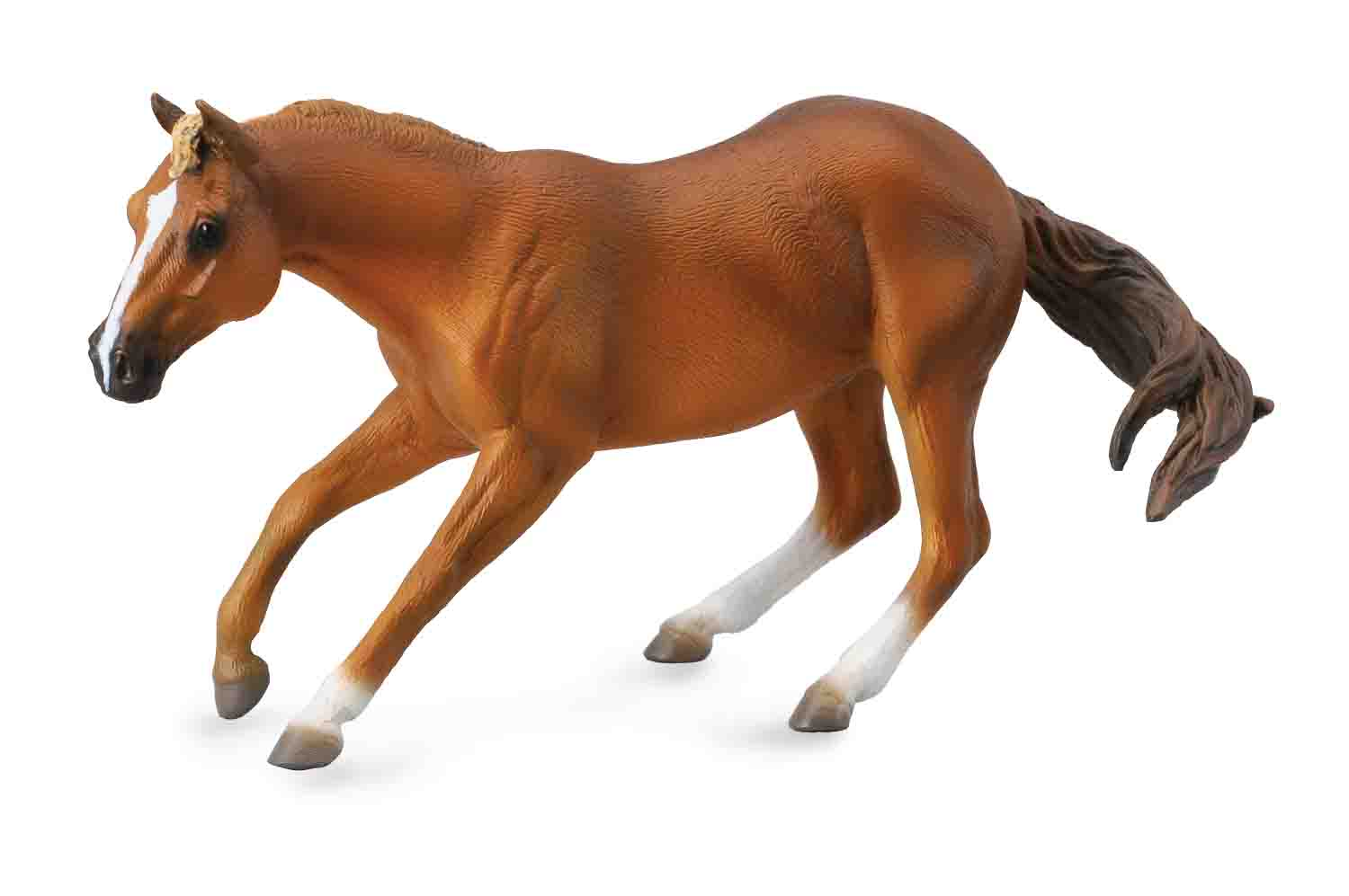 Quarter Horse Stallion Sorrel Collecta Figures Animal