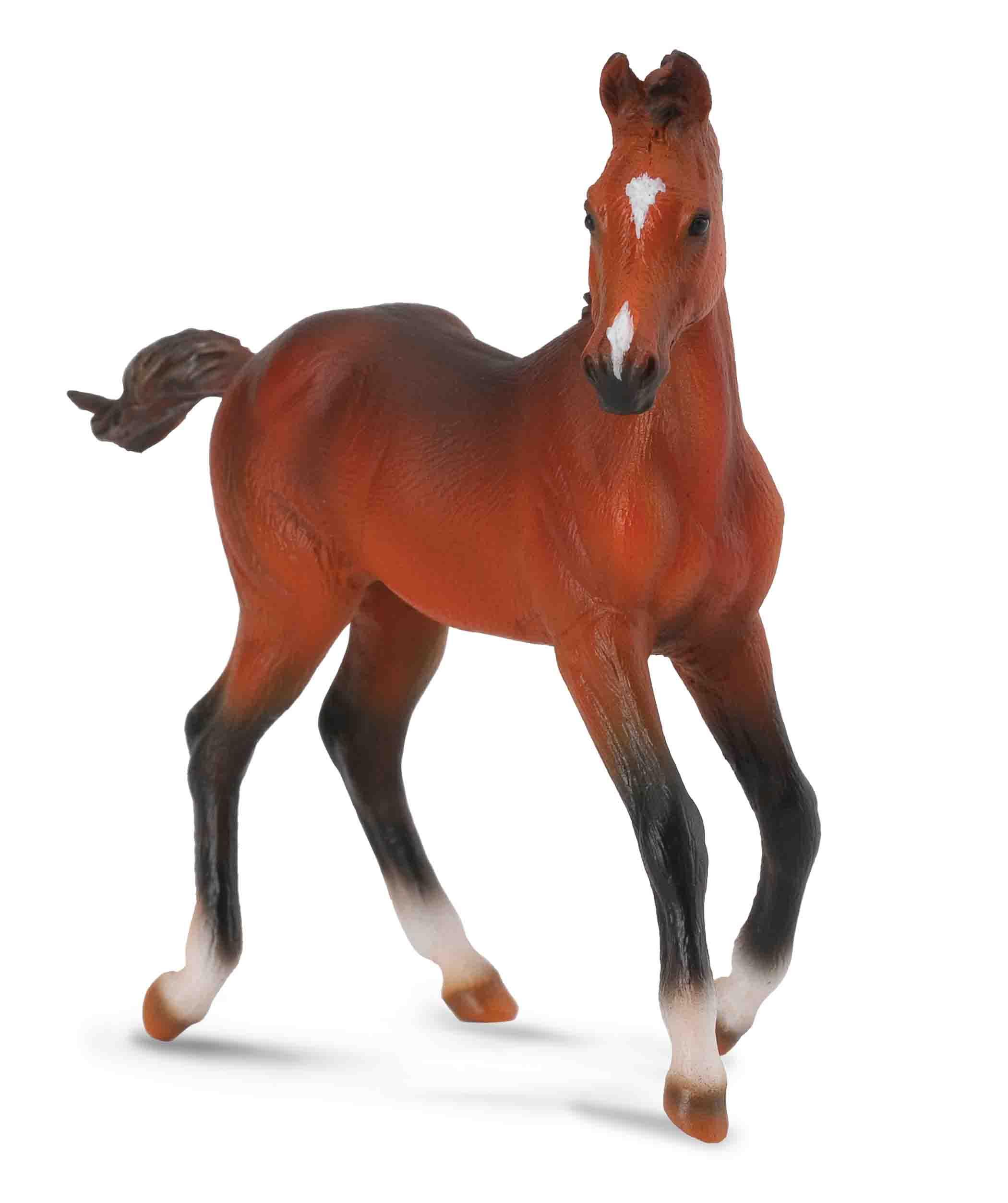 Toy Of Horses : Quarter horse foal sorrel collecta figures animal