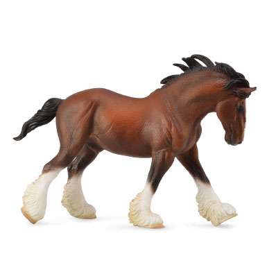 Clydesdale Stallion Bay - horses-1-20-scale