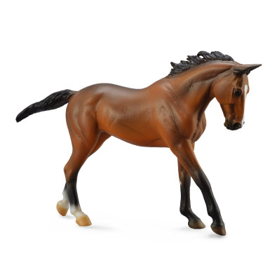 Thoroughbred Mare Bay - Deluxe 1:12 Scale - 88634