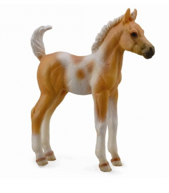 Pinto Foal Standing -Palomino - 88669
