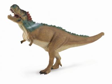 Feathered Tyrannosaurus Rex with Movable Jaw - Deluxe 1 by40 Scale - age-of-dinosaurs-1-40-scale