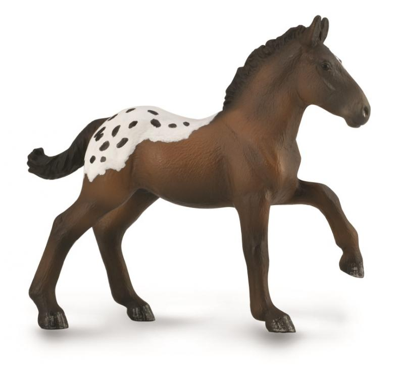 Collect A Horses Standardbred Pacer Chestnut Stallion Toy Figure