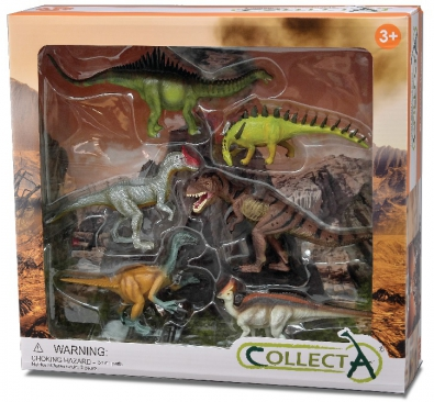 6pcs prehistoric-life Life Boxed Set - 89100