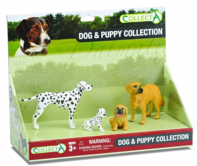 4pcs Dog & Puppy Set - 89109