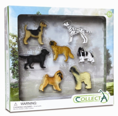 7pcs Dog & Puppy Boxed Set - 89119