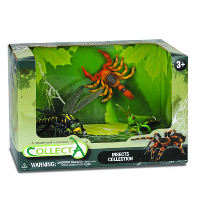 3pcs insects Open Boxed Set - 89136