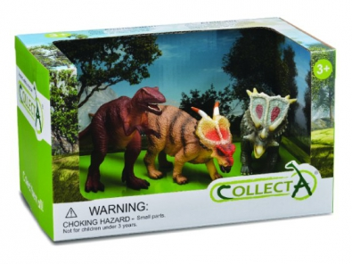 3Pcs Dinosaur Open Box Set - 89140