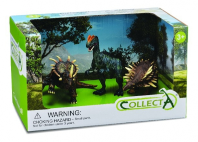 3Pcs Dinosaur Open Box Set - 89141