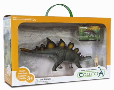Stegosaurus (Deluxe 1:40 Scale) Boxed Set - 89166