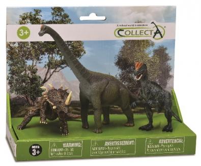 3pcs prehistoric-life Life Set