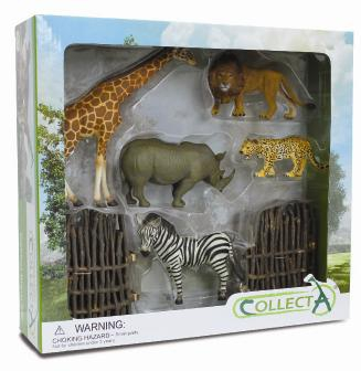 6pcs Wild-life Boxed Set - 89187