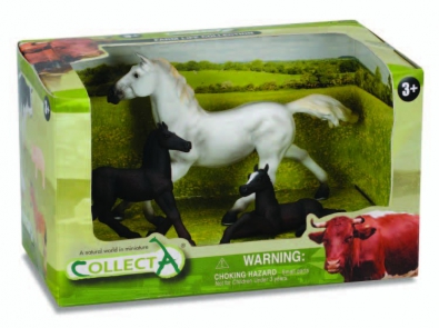 3pcs Horse Life Open Boxed Set - 89202