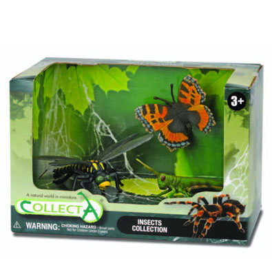 3pcs insects Open Boxed Set - 89206