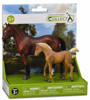 2pcs Horse Life Set  - box-sets