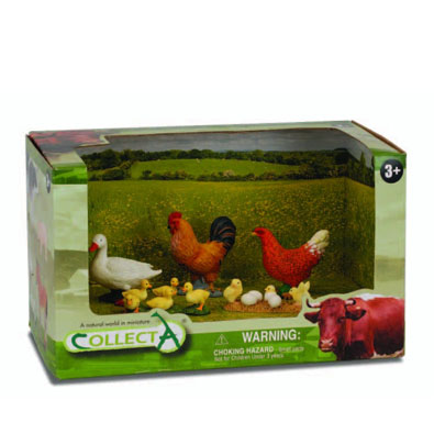 4pcs farm-life Set - box-sets