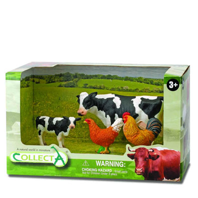 4pcs farm-life Open Boxed Set - box-sets