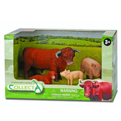 4pcs Farm Life Open Boxed Set - 89264