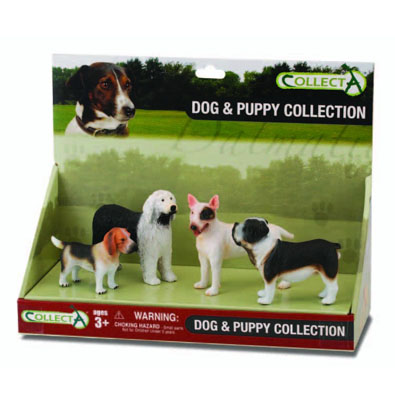 4pcs Dogs Set  - 89270