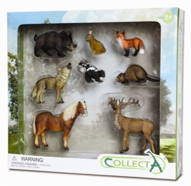 8pcs Woodlands Boxed Set - 89275