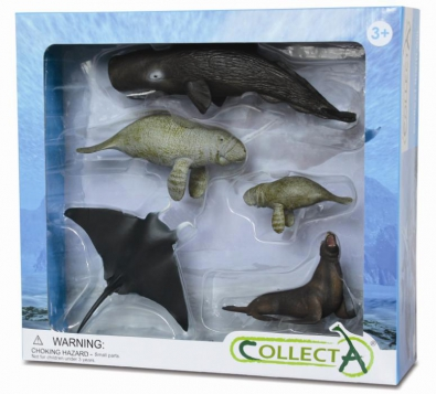 5pcs Sea Life Boxed Set - 89276