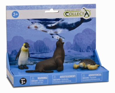 3pcs Sea Life Set  - 89278