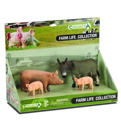 4pcs farm-life Set