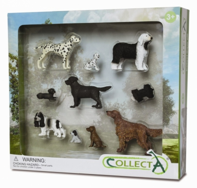 10pcs Dog & Puppy Boxed Set - 89336