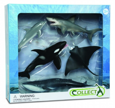 5pcs sea-life Boxed Set