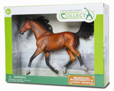 Arabian Stallion Bright Bay - Deluxe 1:12 Scale - 89460