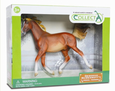 Arabian Stallion Chestnut - Deluxe 1:12 Scale - 89461
