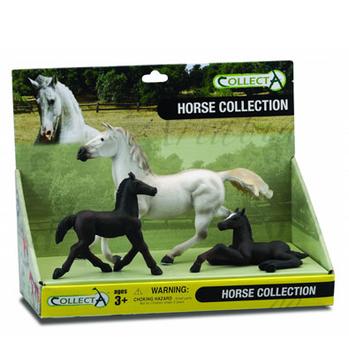 3pcs Horse Life Open Boxed Set - 89486