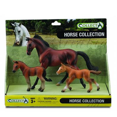 3pcs Horse Set