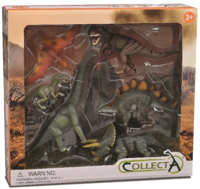 6Pcs Prehistoric Life Boxed Set - 89494
