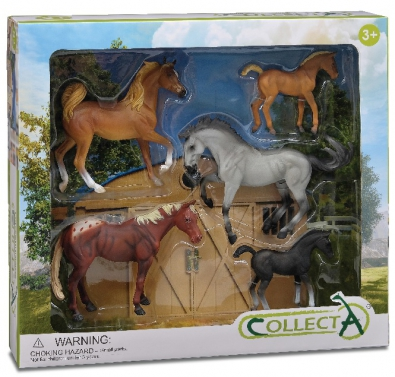 5pcs Horse Boxed Set - 89529