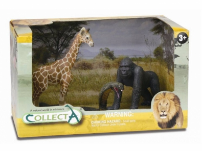 3pcs wild-life Open Boxed Set