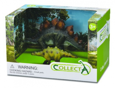 2pcs Dinosaur Open Box Set - 89547